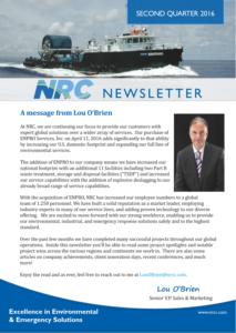 NRC Q2 2016 Newsletter