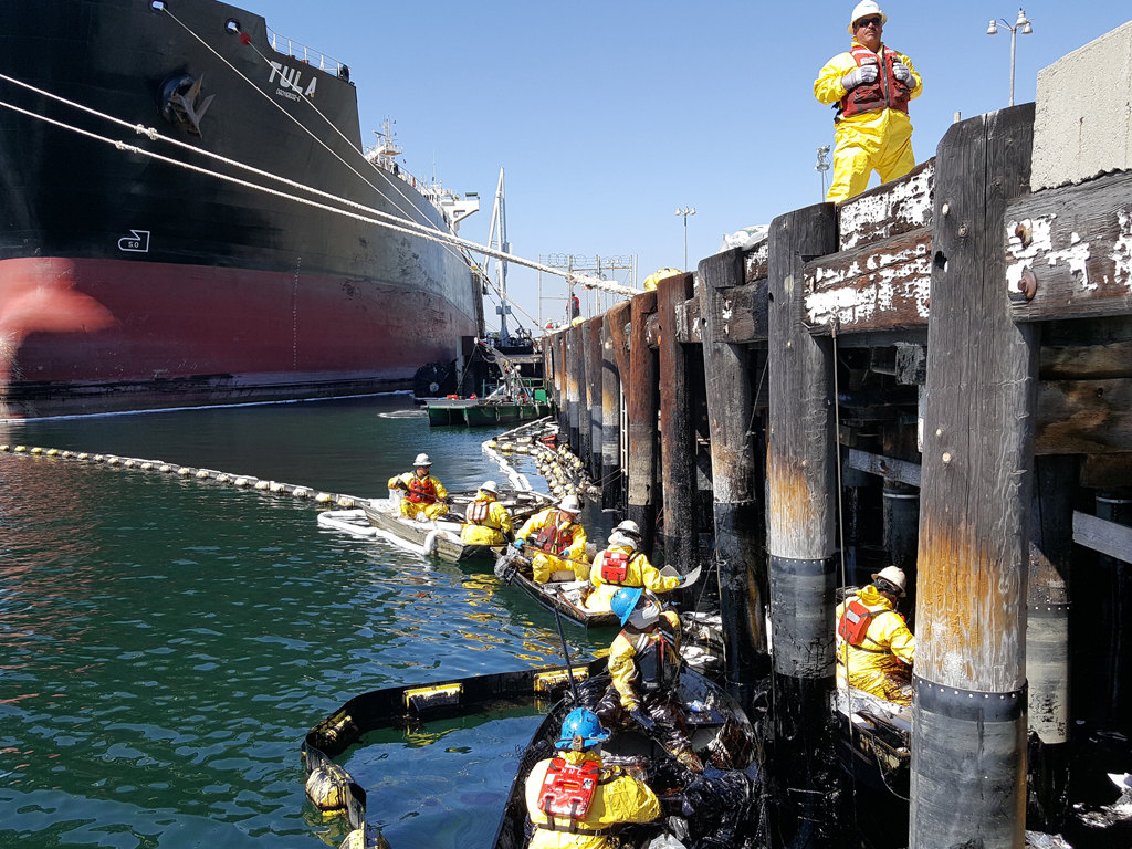 Gas And Oil Mix >> Port of Los Angeles Oil Spill | National Response Corporation