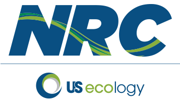 NRC and US Ecology hybrid logo