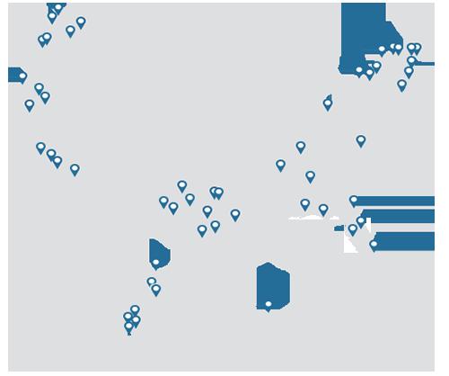 NRC United States Map